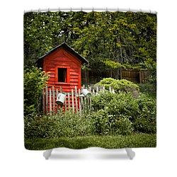 Garden Still Life Shower Curtain by Margie Hurwich