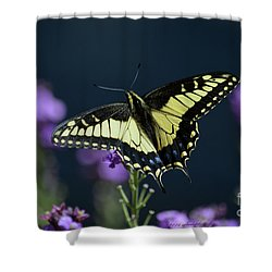 Garden Visitor Shower Curtain