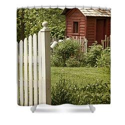 Garden's Entrance Shower Curtain by Margie Hurwich