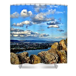 Garvin Heights Shower Curtain
