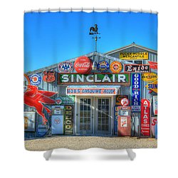 Gasoline Alley Shower Curtain