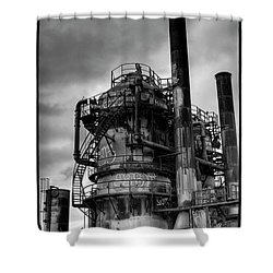 Gasworks Park Shower Curtain by David Patterson