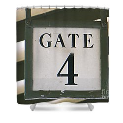 Gate #4 Shower Curtain