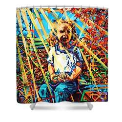 Gates To The Garden Shower Curtain