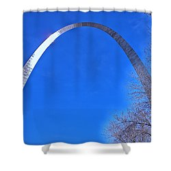 Gateway Arch St Louis 03 Shower Curtain by Thomas Woolworth