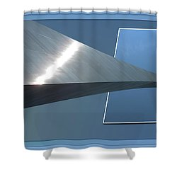 Gateway Arch St Louis 06 Shower Curtain by Thomas Woolworth