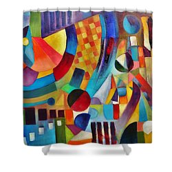 Gateway Shower Curtain by Jason Williamson