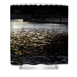 Gateway Park Pueblo Shower Curtain