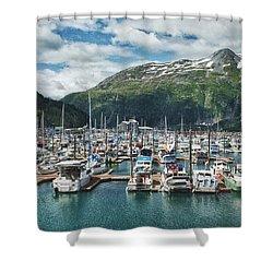 Gateway To Prince William Sound Alaska Shower Curtain by Kim Hojnacki