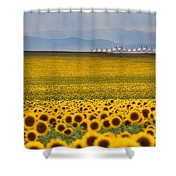 Gateway To The Rockies Shower Curtain