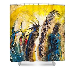 Gathering 2 Shower Curtain