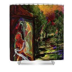 Gauguin's Polynesia  Shower Curtain