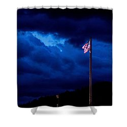 Gave Proof Through The Night That Our Flag Was Still There. Shower Curtain