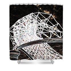 Shower Curtain featuring the photograph Gazebo 3 by Minnie Lippiatt