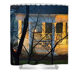 Gazebo After Dark Shower Curtain