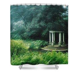 Gazebo Longwood Gardens Shower Curtain