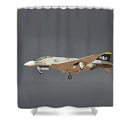 Gear Check Shower Curtain