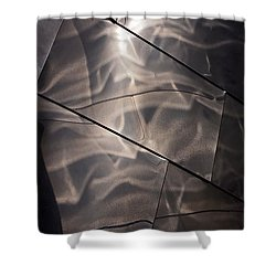 Gehry Magic Shower Curtain by Rona Black