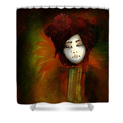 Geisha5 - Geisha Series Shower Curtain