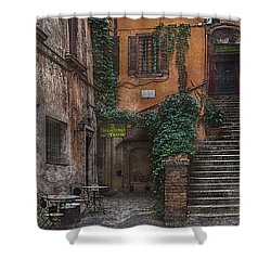 Gelateria Del Teatro Shower Curtain