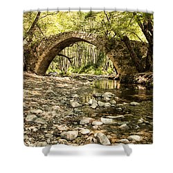 Gelefos Old Venetian Bridge Shower Curtain by Mike Santis