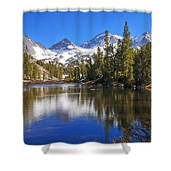 Gem Of The Sierras Shower Curtain by Lynn Bauer