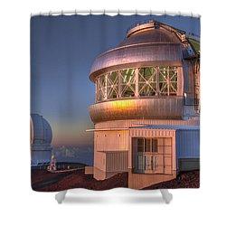 Gemini Shower Curtain by Eduard Moldoveanu