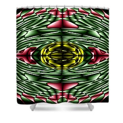 Gemstone Shower Curtain by Cbhristopher Gaston