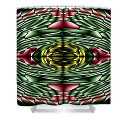 Gemstone Shower Curtain by Cbhristopher Gaston