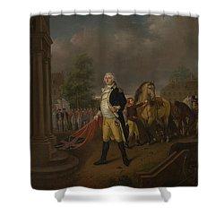 General Humphreys Delivering Shower Curtain by Nicolas Louis Albert Delerive