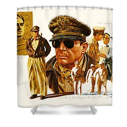 General Macarthur Shower Curtain