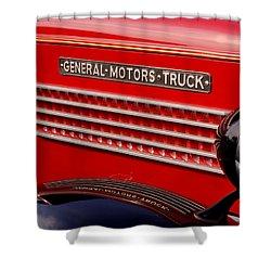 General Motors Truck Shower Curtain
