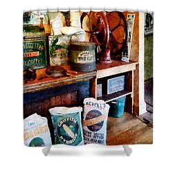 General Store Shower Curtain by Susan Savad
