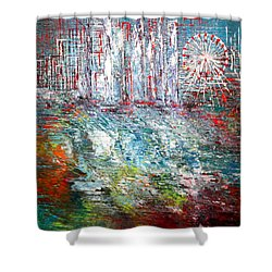 Gentle Breeze  Shower Curtain by George Riney