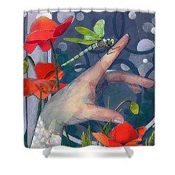 Gentle Landing Shower Curtain