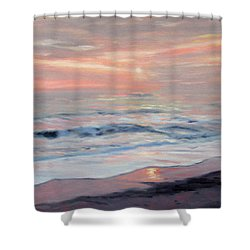 Gentle Sunrise Shower Curtain