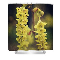 Gently Falling Shower Curtain by Laurie Search
