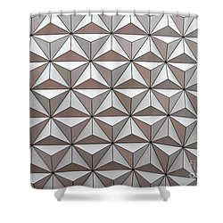 Geodesic Shower Curtain by Sabrina L Ryan
