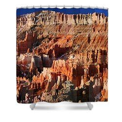 Geology Triptych - Three Shower Curtain