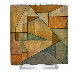 Geometric Abstraction Iv Shower Curtain