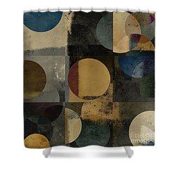 Geomix 01 - 111bt2a Shower Curtain by Variance Collections