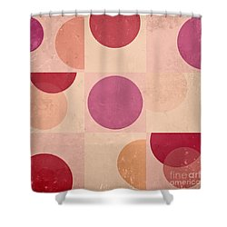 Geomix - C07atdb Shower Curtain by Variance Collections