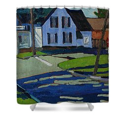 George Street Shower Curtain by Phil Chadwick