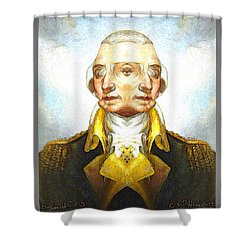 George-washington 1 Shower Curtain