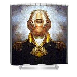 George-washington 2 Shower Curtain