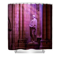 George Washington At The National Cathedral Shower Curtain