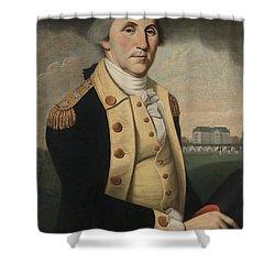 George Washington Shower Curtain by Charles Peale Polk
