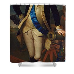 George Washington Shower Curtain by Charles Wilson Peale