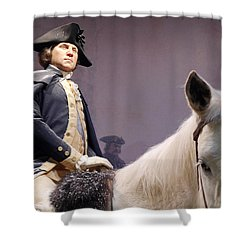 George Washington  Shower Curtain by Richard Reeve
