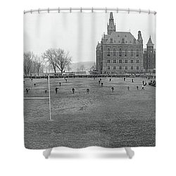 George Washington University Vs Shower Curtain by Fred Schutz Collection